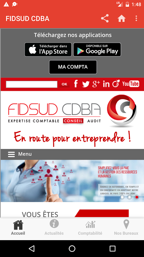 FIDSUD CDBA- screenshot
