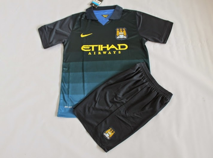 Jual Jersey Anak Manchester City Away 2014-2015
