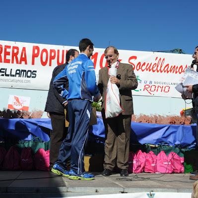 Carrera de Socuéllamos 2012 - Trofeos