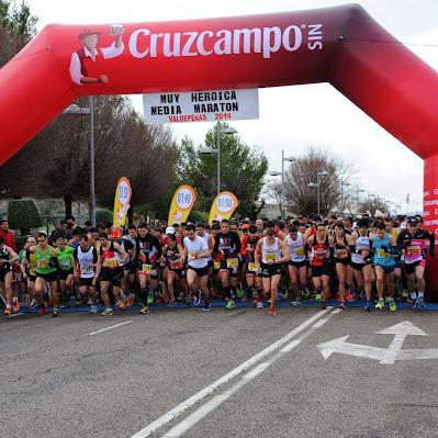 Media Maratón de Valdepeñas 2014 - Carrera