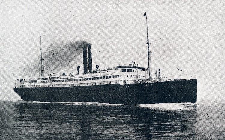 4-INFANTA ISABEL DE BORBON en navegación. Revista La Vida Maritima. Año 1914.jpg