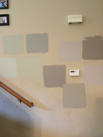 The Very First Color She Suggested Was A Winner Lesson Learned Out Kitchen And Living Area Will Soon Be Benjamin Moore S Sandy Hook Gray