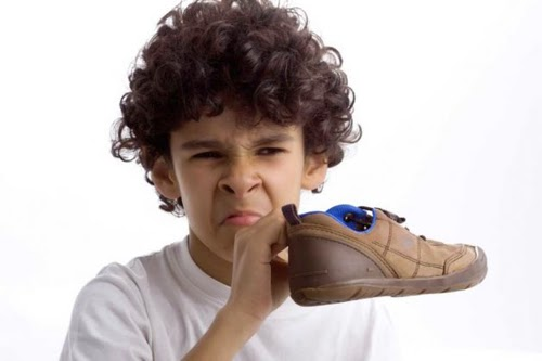 To deodorize shoes place a dry tea bag in each shoe and leave overnight to absorb the smell Repeat if necessary
