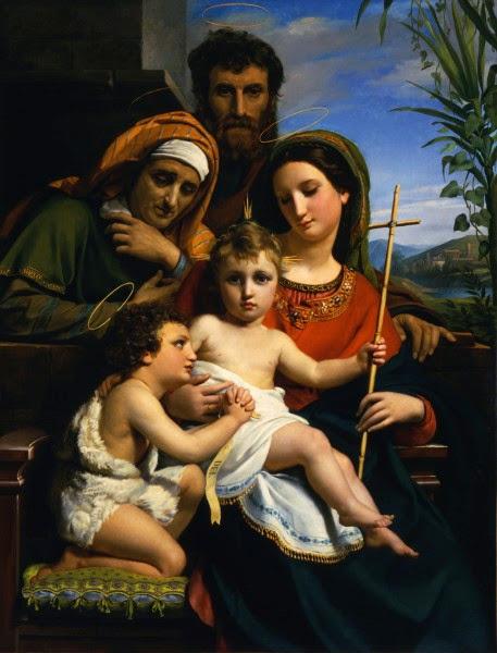 François-Joseph Navez - Holy Family