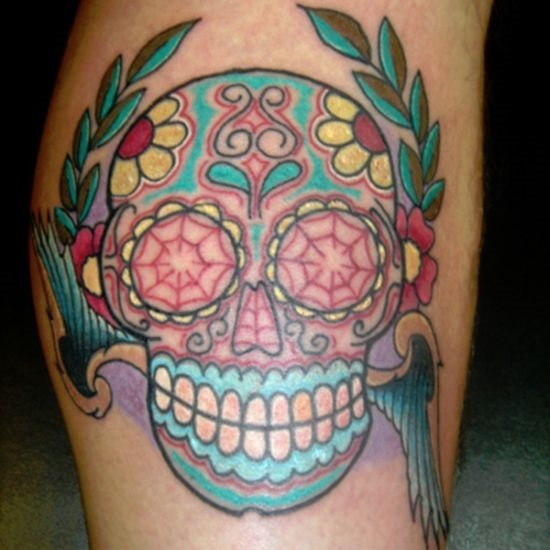 fantasia_de_açcar_tatuagem_de_caveira