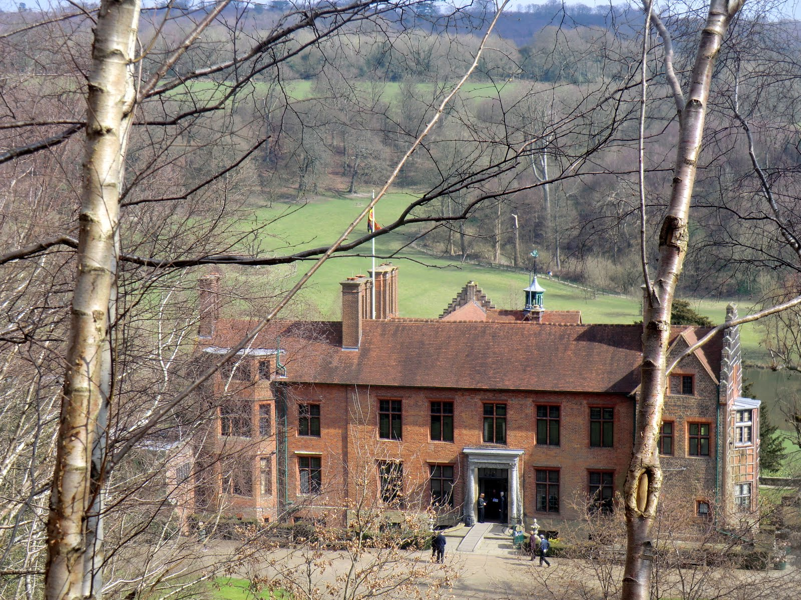 CIMG2921 First glimpse of Chartwell