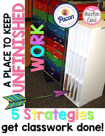 Pacon  products are the best for teachers. I used their paper sorter to keep and organize unfinished work, intervention work, and even guided reading materials