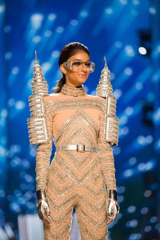 Kiran Jassal, Miss Malaysia 2016 debuts her National Costume on stage at the Mall of Asia Arena on Thursday, January 26, 2017.  The contestants have been touring, filming, rehearsing and preparing to compete for the Miss Universe crown in the Philippines.  Tune in to the FOX telecast at 7:00 PM ET live/PT tape-delayed on Sunday, January 29, live from the Philippines to see who will become Miss Universe. HO/The Miss Universe Organization