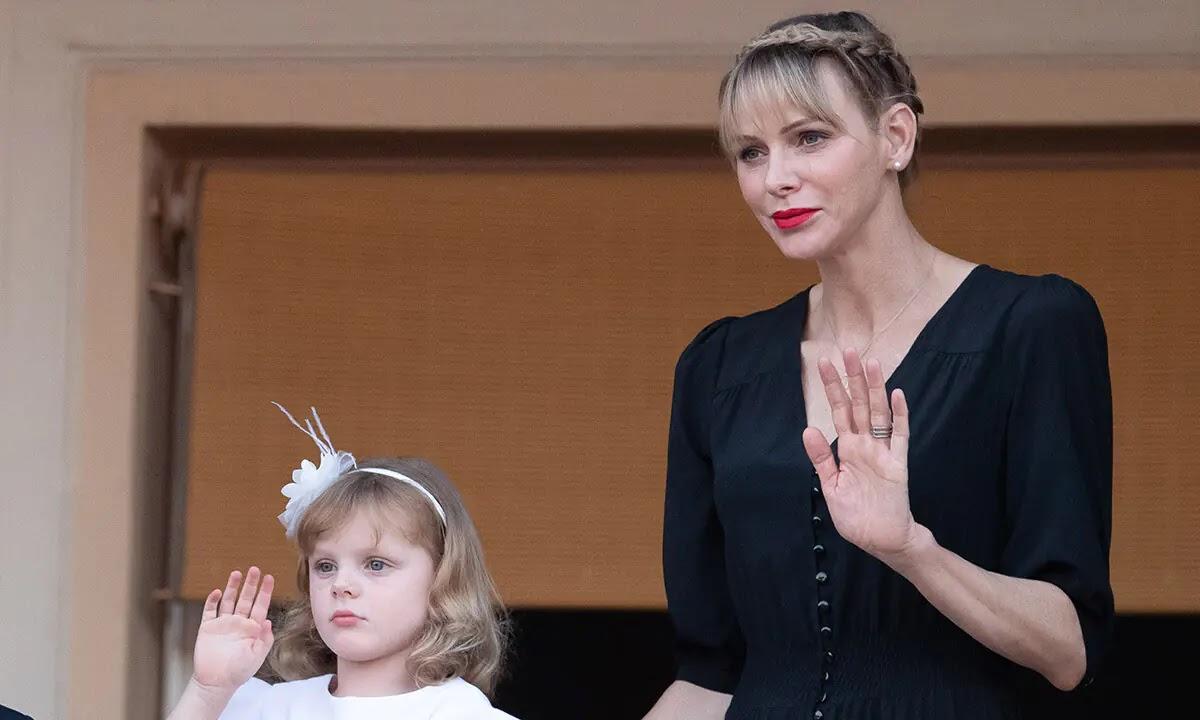 Princess Charlene sparks fan concern with Photos of Daughter Princess Gabriella's Leg Injury