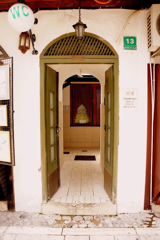 Die älteste öffentliche Toilette Europas