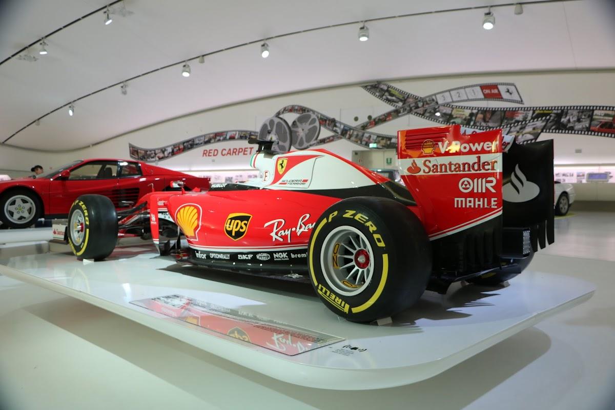 Modena - Enzo Museum 0081 - 2016 Ferrari SF16 F1.jpg