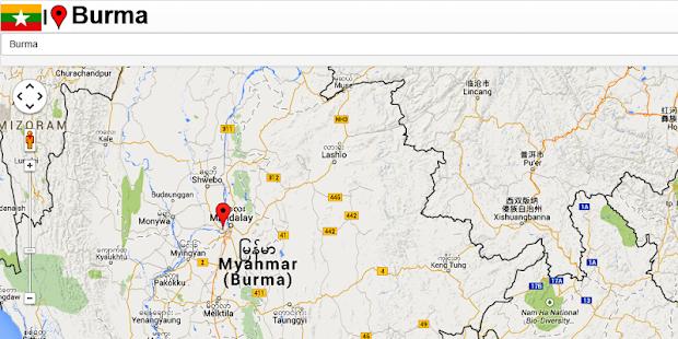 Burma Map Android Apps On Google Play - Burma map