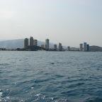 El Rodadero desde el mar