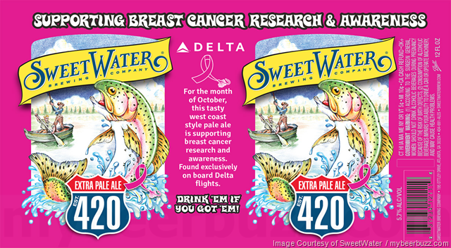 SweetWater Adding Pink 420 Cans In Support Of Breast Cancer Research