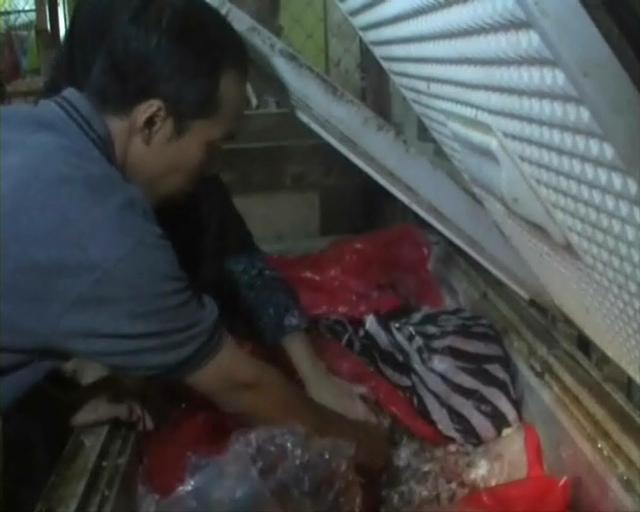 Razia Pasar, Tim Gabungan Temukan Ratusan Kilogram Daging Busuk Diperdagangkan