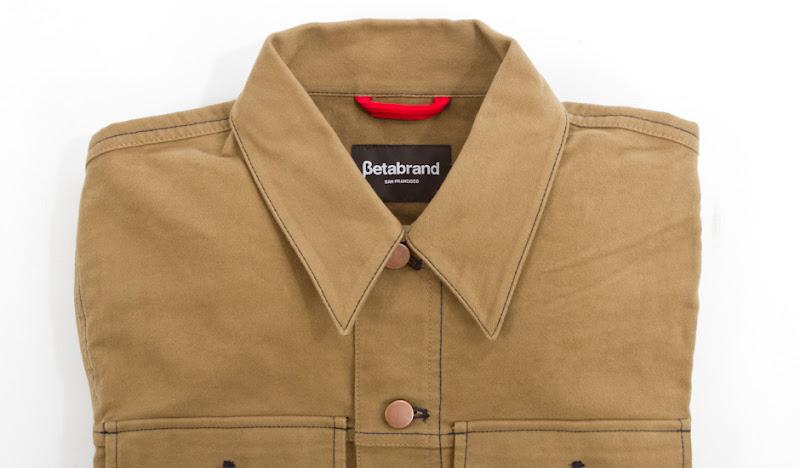 Khaki Moleskin Jacket: Just look how soft this looks!