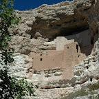 Montezuma Castle, bewoond door de Sinagua