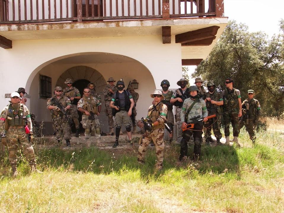 """Fotos de """"THE FINAL WAR"""". La Granja. 23-06-13 PICT0113"""