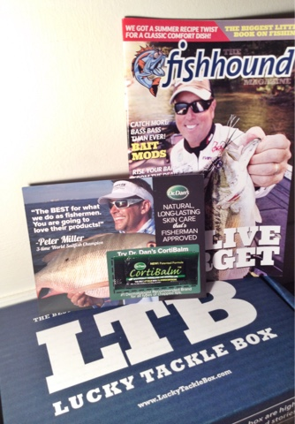 Lucky Tackle Box July 2015