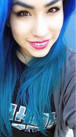 Abstract Alice Hairspiration No 4 Poseidon Aquamarine Review