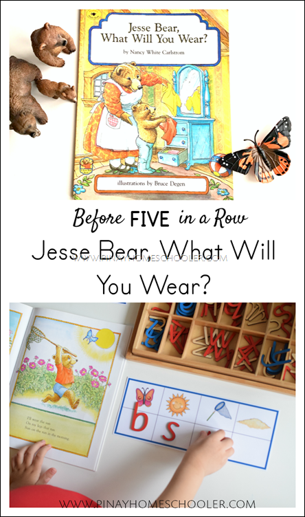 B4FIAR: Jesse Bear What Will You Wear
