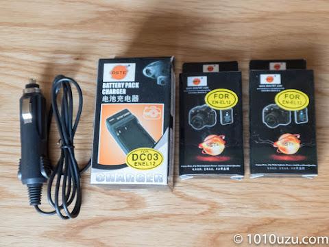 充電器とバッテリのセットを購入