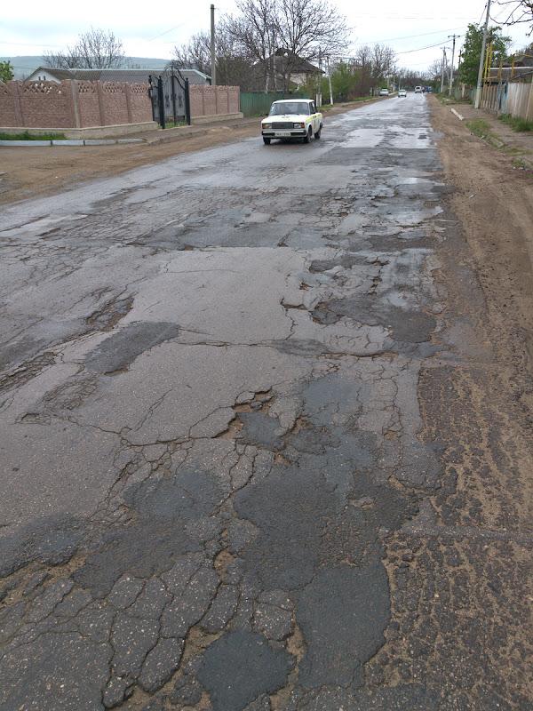 Calitatea drumului Chisinau-Ungheni. Drum European.