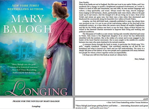 read Longing Mary Balogh full book pdf