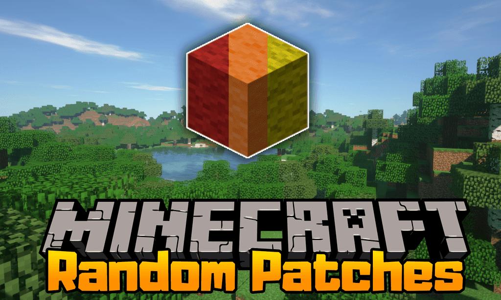 Minecraft Random Pathes Mod