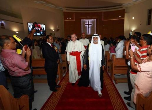 Viral Gereja Baru di Uni Emirat Arab, Ade Armando: Dalam Islam, Gereja Memang Harus Dihormati, Layak Ditiru