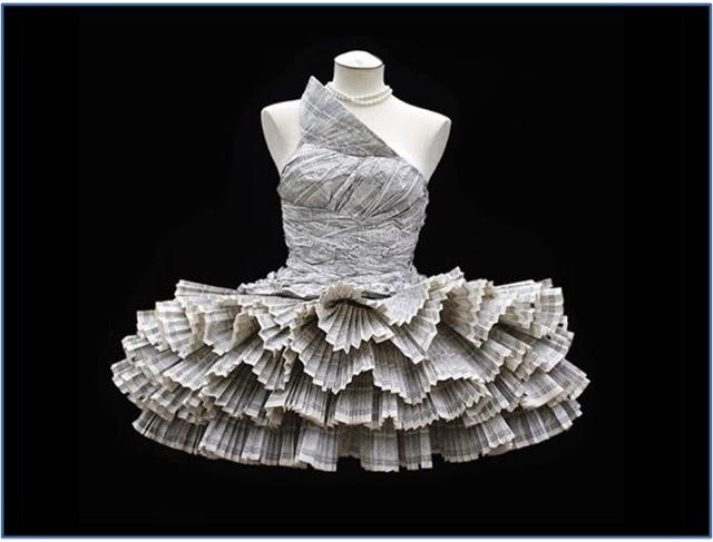 Manualidadesgipsy Vestido De Periódico