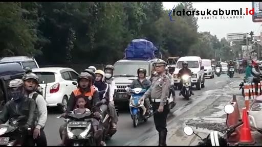 Pantauan Terkini Arus Mudik Sukabumi - Bogor