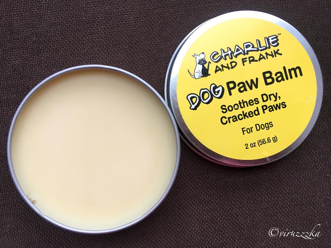 Charlie & Frank Dog Paw Balm iHerb Review