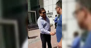 Justin Van Pletzen, a South African in Dubai, spotted Ajay Gupta at an office block on April 4, 2018.