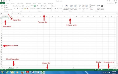2013 MS Excel Reference - náhled