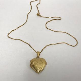 14K Gold Locket