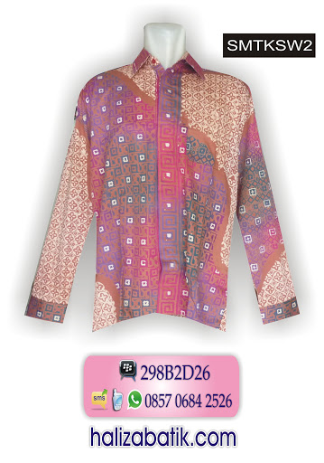 mode baju batik, model baju batik modern, baju batik online