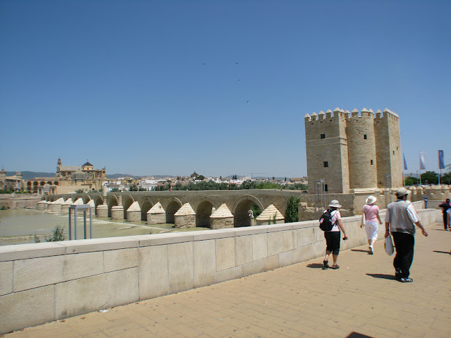 Roman bridge entering Córdoba, Spain