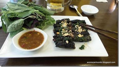 Hanoi. Nuestra primera comida en Vietnam