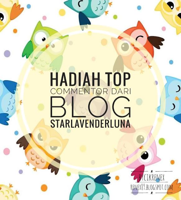 Hadiah Top Commentor dari Blog Starlavenderluna