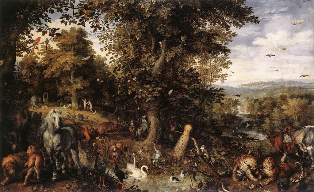 Jan Brueghel the Elder - Garden of Eden