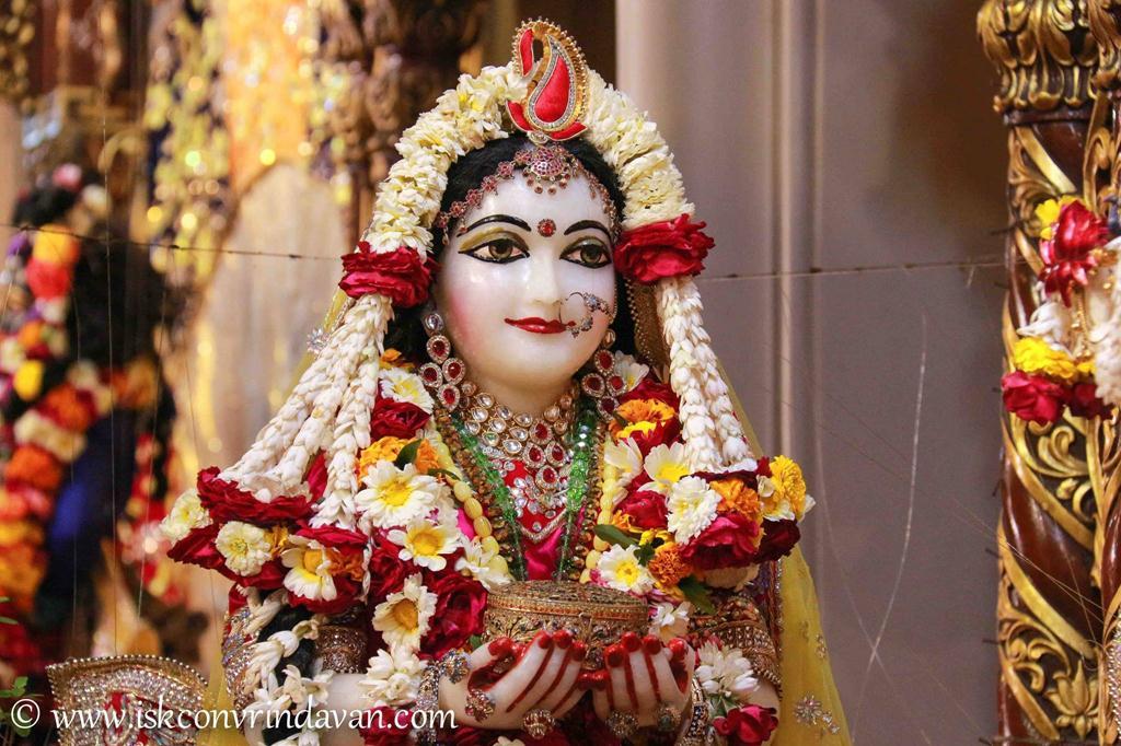 ISKCON Vrindavan Sringar Deity Darshan 12 Mar 2016 (16)