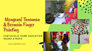 Mengenal Tanaman & Membuat Finger Painting (Portofolio Home Education Anak Usia Dini)