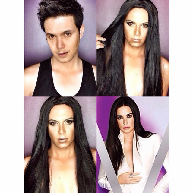 Paolo Ballesteros Makeup Transformations with Pictures 03
