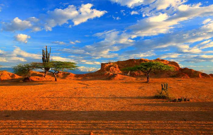 desierto en Colombia increible paisaje