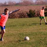 Mecz na ligowym boisku