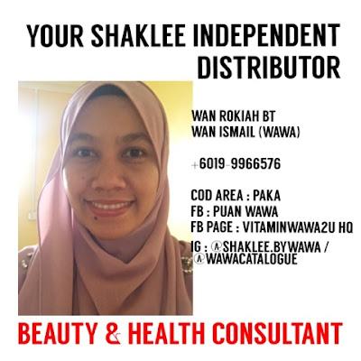 Your Shaklee Independent Distributor