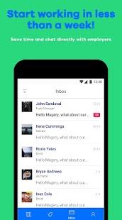 StaffPlace - Job app - náhled