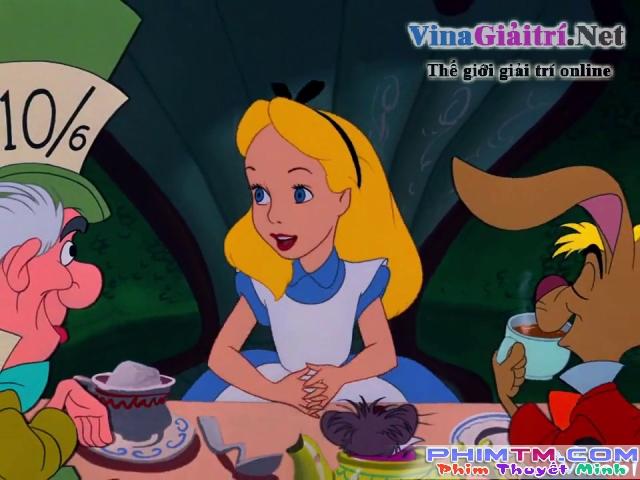 Xem Phim Alice Ở Xứ Sở Thần Tiên - Alice In Wonderland - Vkool.Net - Ảnh 3