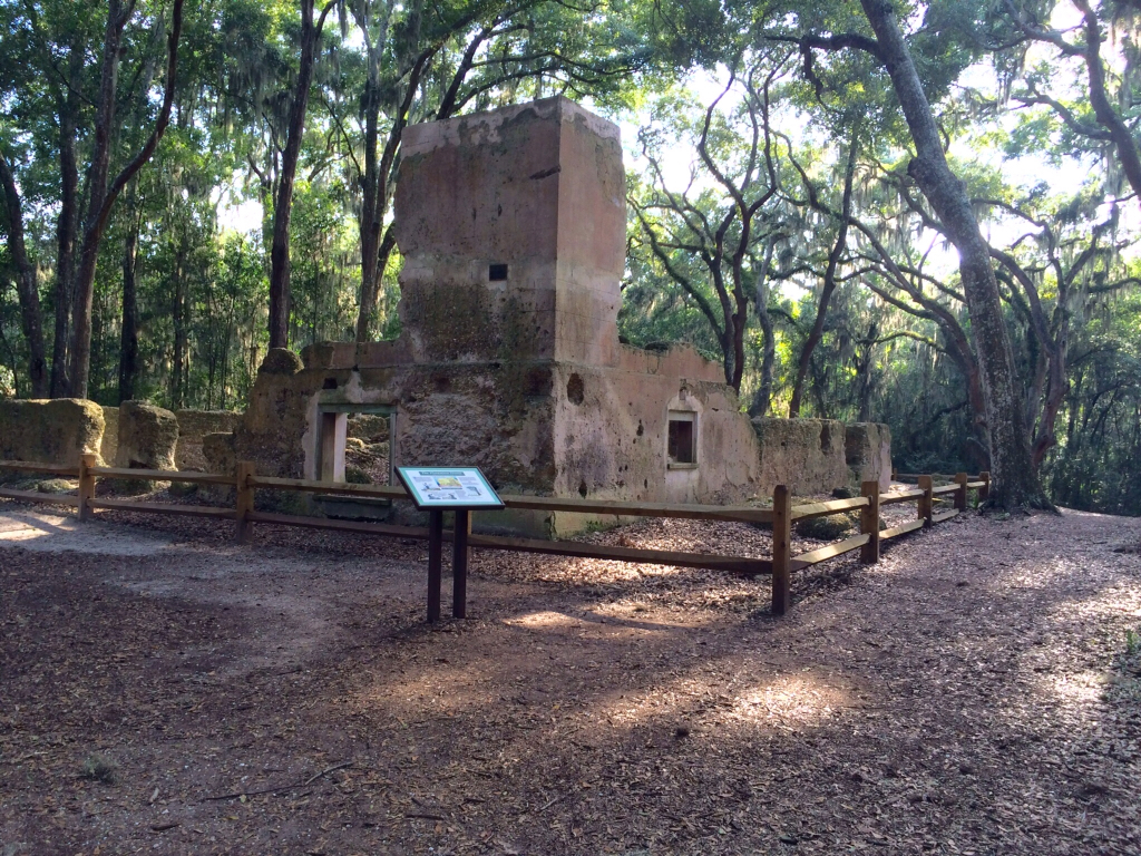 Ghosts Of Its Former Owners Are Said To Haunt The Tabby Ruins Stoney Baynard Plantation On Hilton Head Island South Carolina